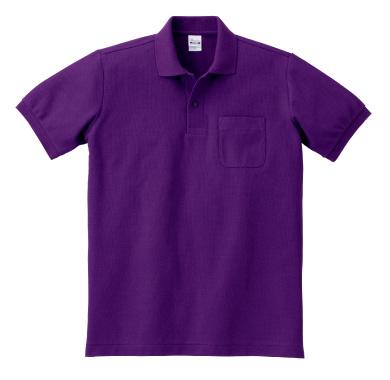 ポケット付T/Cポロシャツ