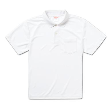 ドライアスレチックポロシャツ(ポケット付)