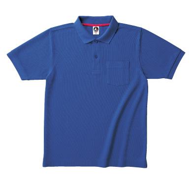 ポケット付ベーシックスタイルポロシャツ